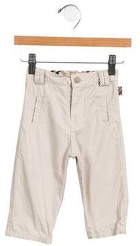 Burberry Boys' Nova Check-Trimmed Pants