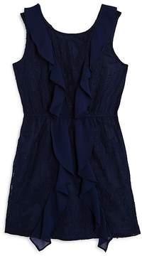 Bardot Junior Girls' Hallie Ruffled Lace Dress - Big Kid
