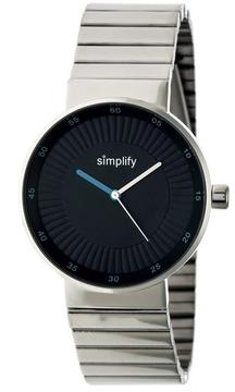 Simplify The 4600 SIM4602 Silver Stainless Steel Analog Watch