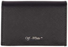 Off-White Black Small Bifold Card Holder