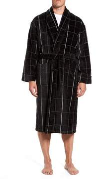 Majestic International Men's Remarkavelour Robe