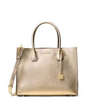 MICHAEL Michael Kors Mercer Large Convertible Tote Bag, Pale Gold