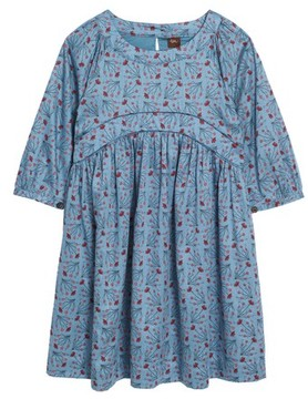 Tea Collection Girl's Aviemore Empire Dress