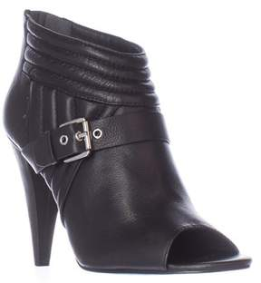 Sigerson Morrison Myla Open-toe Ankle Boots, Black.