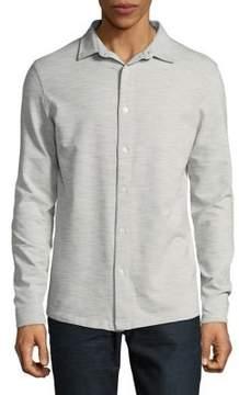 Selected Slim-Fit Cotton Button-Down Shirt