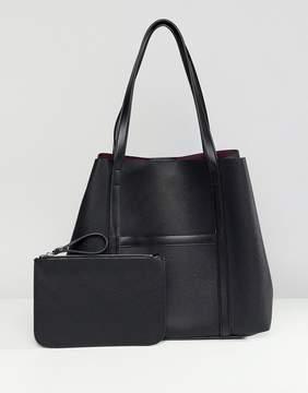 French Connection Saffiano Julia shopper handbag