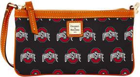 Dooney & Bourke Ohio State Buckeyes Large Wristlet - BLACK - STYLE