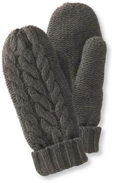 L.L. Bean Women's Heritage Wool Mittens