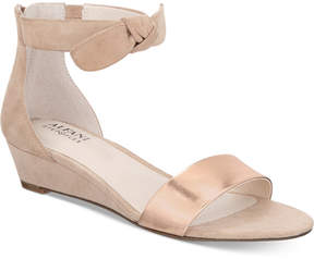 Alfani Tamirr Step 'N Flex Wedge Sandals, Created for Macy's Women's Shoes