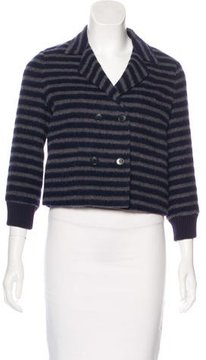 Boy By Band Of Outsiders Striped Knit Blazer