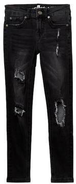 7 For All Mankind The Skinny Knit Jean (Big Girls)