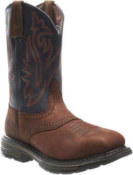 Wolverine Steel-Toe Javelina High Plains Mens Work Boots