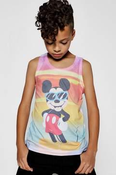 boohoo Boys Disney Mickey Sublimation Vests