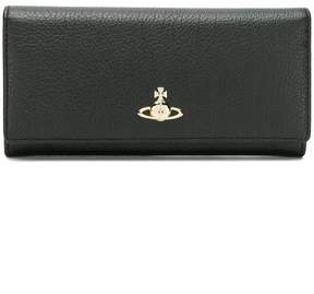 Vivienne Westwood logo plaque foldover wallet