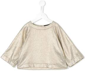 European Culture Kids metallic top
