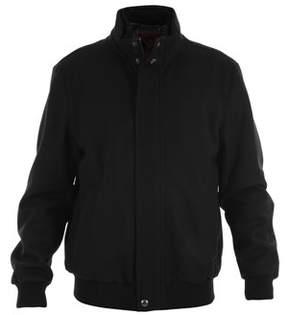 Paul & Shark Men's Black Wool Outerwear Jacket.