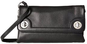Marc by Marc Jacobs Twilo Leather Crossbody M0007689 Black - BLACK - STYLE