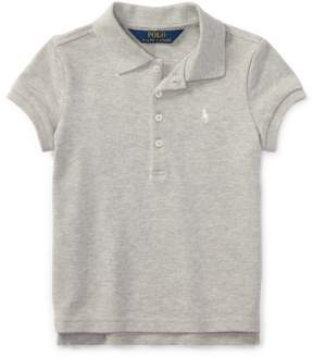 Ralph Lauren | Stretch Mesh Polo Shirt | 6 years | Gray