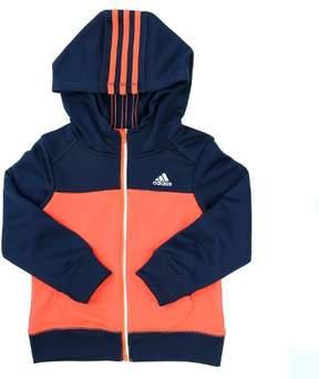 adidas Climawarm Block Track Jacket - Solar Red - Boys - 7X
