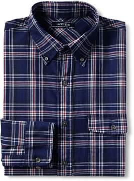 Lands' End Lands'end Men's Traditional Fit Forewind Twill Shirt