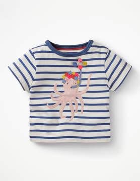 Boden Seaside Applique T-shirt