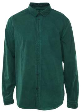 GUESS Laguna Pigment Tumble Casual Shirt X-Large Amulet Green Slim Fit