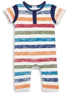 Splendid Baby's Reverse Stripe Coverall