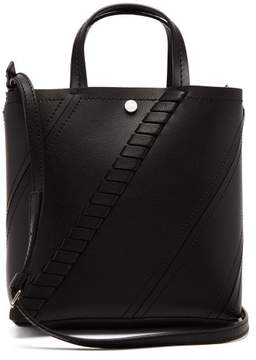 Proenza Schouler Hex Small Leather Tote Bag - Womens - Black