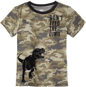 Epic Threads Little Boys Camo Dino-Print T-Shirt, Created for Macy's