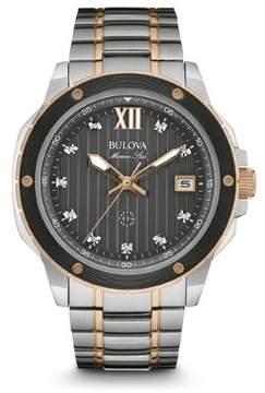 Bulova Marine Star 98D127 Two-Tone Analog Quartz Men's Watch