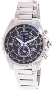Citizen Men's Eco-Drive AT2130-83E Silver Stainless-Steel Japanese Quartz Fashion Watch