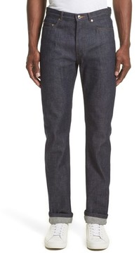 A.P.C. Men's High Waist Standard Selvedge Jeans