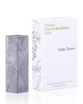 Francis Kurkdjian Globe Trotter travel spray case, .04 oz./ 11 mL