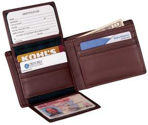 Royce Leather Royce RFID Blocking Genuine Leather Executive Bifold Wallet - Coco