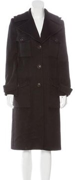 Andrew Gn Long Collared Coat