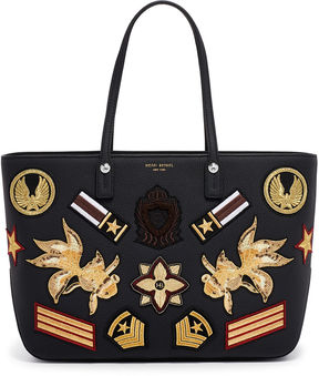 Henri Bendel West 57th E/W Military Patch Tote