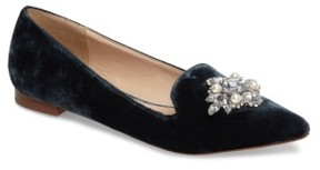Sole Society Women's Libry Crystal Embellished Flat
