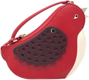 Kate Spade Red Carpet Ooh La La Bird Leather Crossbody Bag