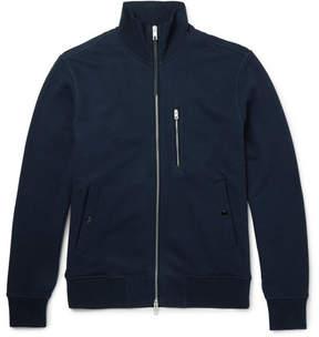 Rag & Bone Loopback Cotton-Jersey Zip-Up Sweatshirt