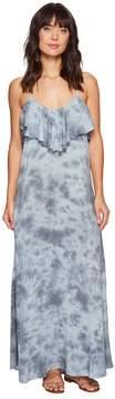 Blue Life Enchanted Tie Back Ruffle Dress Women's Dress