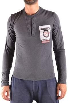 CNC Costume National Men's Grey Cotton T-shirt.
