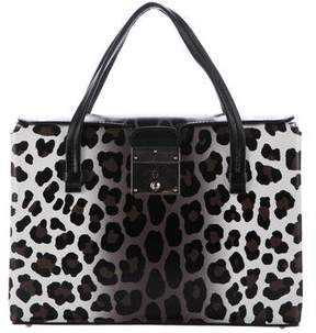 Marc Jacobs Carnaby Leopard Tote - BLACK - STYLE