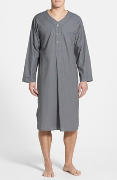 Majestic International Men's Cotton Nightshirt