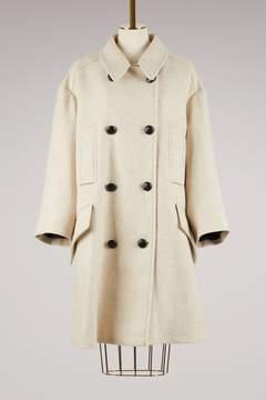 Etoile Isabel Marant Wool Flicka Coat