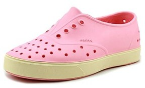 Native Miller Youth Round Toe Synthetic Pink Sneakers.
