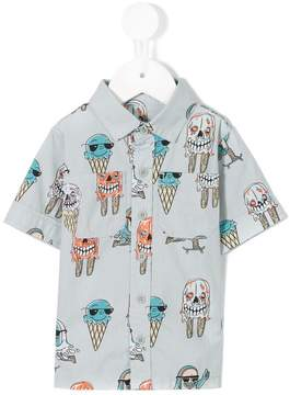 Stella McCartney Rowan Ice Cream print shirt