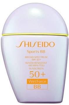Shiseido Sports BB Broad Spectrum SPF 50+ WetForce, Medium, 30 mL