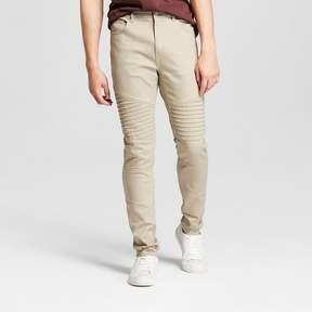 Jackson Men's Skinny Moto Denim Jeans Burnt Sand