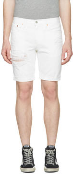 Levi's Levis White Denim 511 Shorts