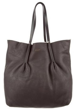 Nina Ricci Leather & Shearling Tote